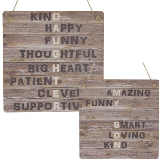 Son Daughter Gifts Rustic Meaning Plaque Wooden Sign Childrens