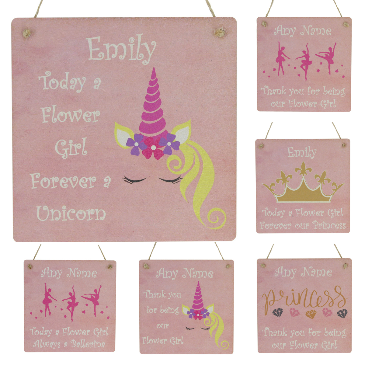 UNICORN THANK YOU NOTES CARDS PRESENT GIFT GIRLS PINK
