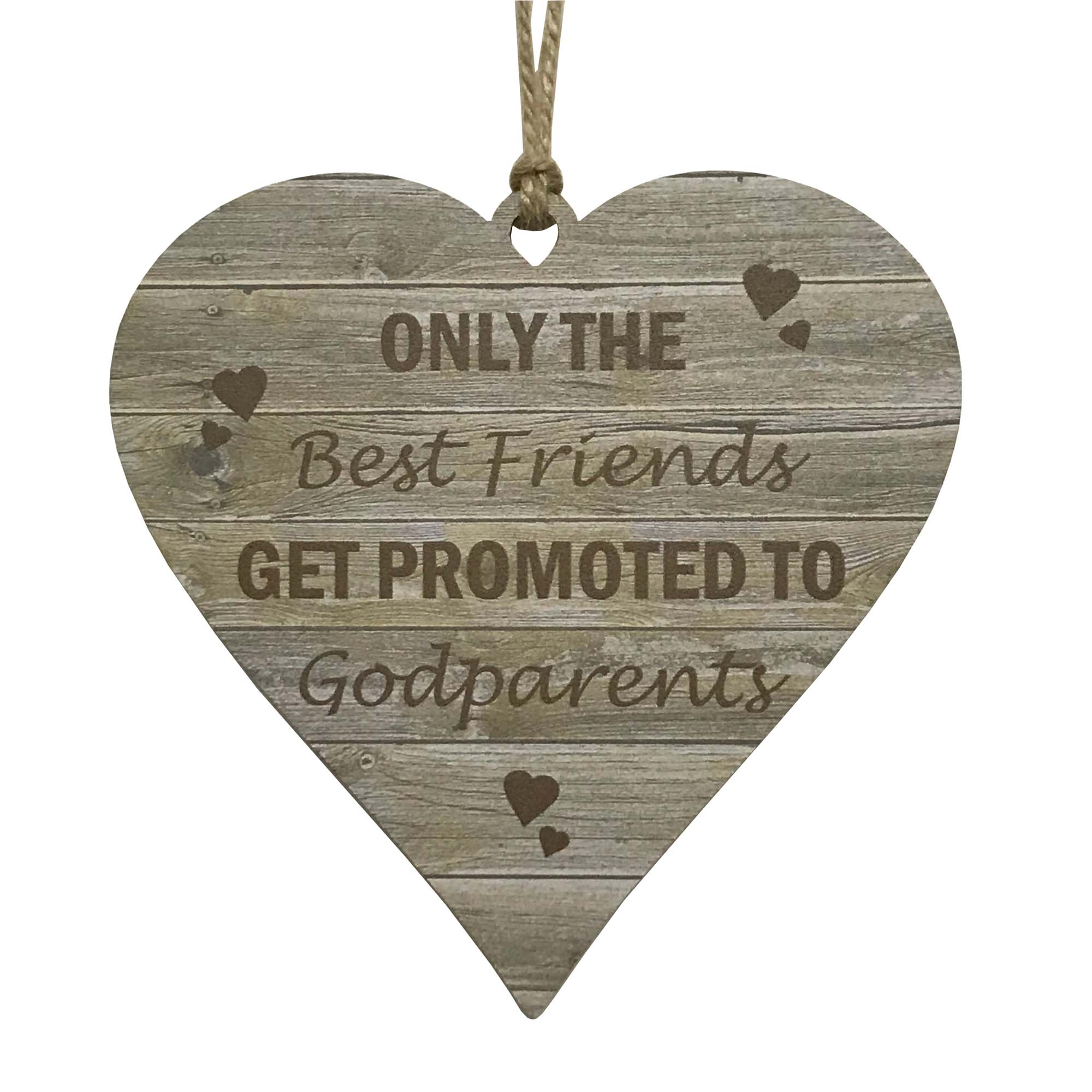 Godparent Gifts Only The Best Friends Get Promoted Christening Godparents Heart
