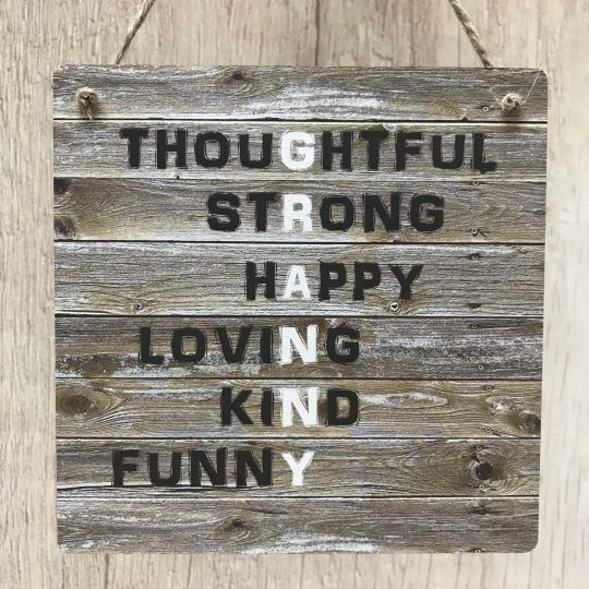 Granny Rustic Meaning Gift Wooden Plaque Vintage Sign For Birthday