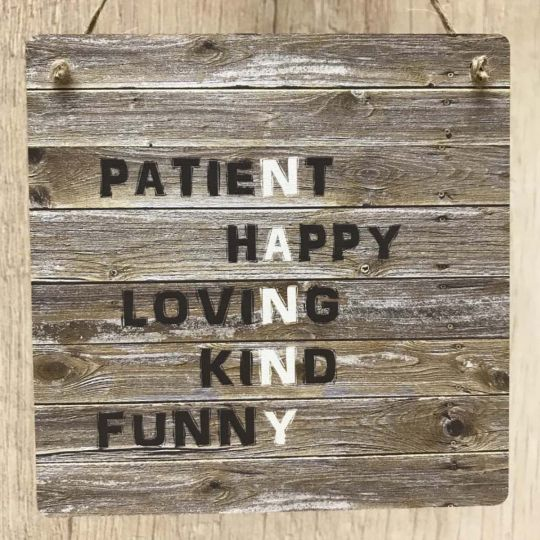 Nanny Rustic Meaning Gift Wooden Plaque Vintage Sign For Birthday Or